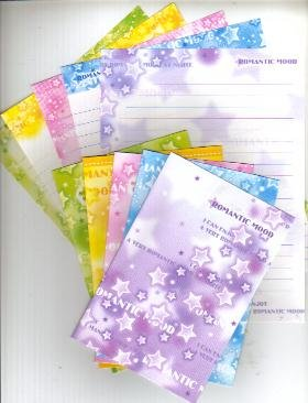 Japan Cru-x Romantic Mood Stars Lettersets