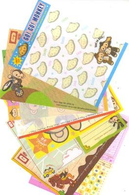 Japan Cru-x Go Go Monkey Papers