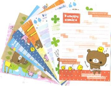 Japan Kamio Kumapy Comic Papers