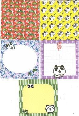 Japan Panda w Bamboo Memos
