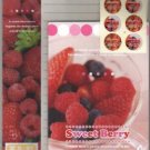 Japan Sweet Berry Lettersets Pack KAWAII