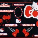 KAWAII Japan Hello Kitty Hair Clip (Red) #5