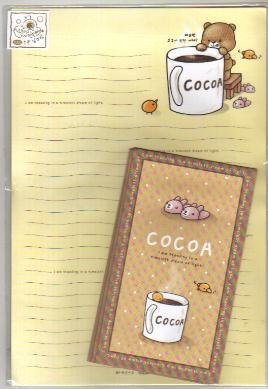 Korea Cocoa Drink Lettersets Pack