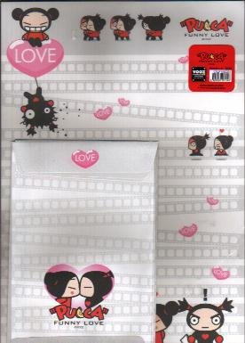 Korea Pucca Love Over-size Lettersets Pack (Grey)