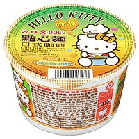 Japan Hello Kitty Cup Noodles -- Curry Favour (free gift inside)