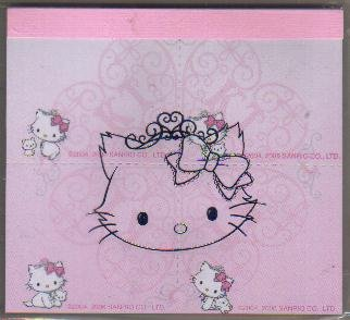 Japan Sanrio Charmmy Kitty 4 in 1 memopad kawaii