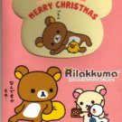 Japan San-x Rilakkuma X'mas Card w/ Envelope #2