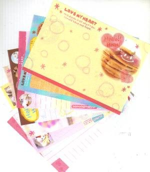 Japan Cru-x Love My Heart Papers Kawaii