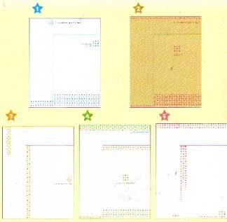 JAPAN CRU-X Small Dots Like Glittering Lettersets KAWAII
