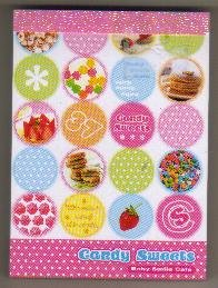 JAPAN Preco Candy Sweets Memopad KAWAII