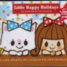 JAPAN Kamio Little Happy Holidays Notepad (large memo pad) Kawaii
