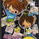 JAPAN Kamio Miracle Girls Notepad (large memo pad) Kawaii