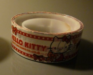 Japan Sanrio Hello Kitty Ribbon Deco Tape KAWAII