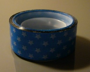 Japan Baby Blue Stars Deco Tape KAWAII