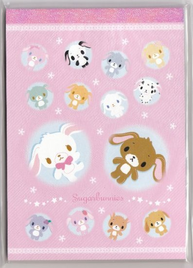 JAPAN Sanrio Sugarbunnies Notepad (large memo pad) KAWAII