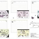 JAPAN Kamio Fine Rooms Deco Lettersets Kawaii
