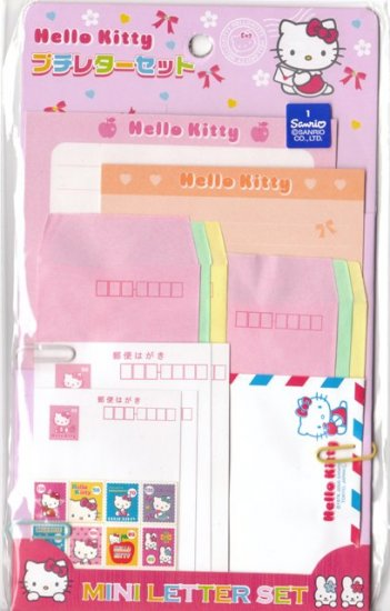 Japan Sanrio Hello Kitty Memosets Pack KAWAII