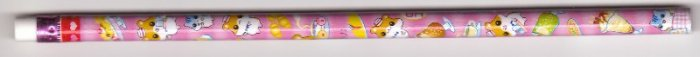 Japan Lemon Hamster Cafe Pencil (pink)