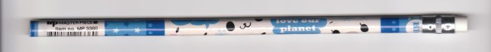 Japan Cute Animal Face Pencil KAWAII (blue)