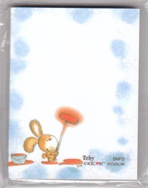 Hong Kong Evercare Rabbit Painting Memopad KAWAII