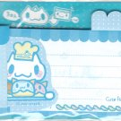 Taiwan Giligowla Rabbit Cook Long Memopad KAWAII (Baby Blue)