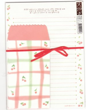 Korea Cherry Lettersets KAWAII