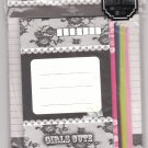 JAPAN San-x Girls Cute Crown & Lace Lettersets Pack KAWAII