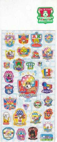 Japan San-x Afro Ken Cup Kick Off! Sticker KAWAII