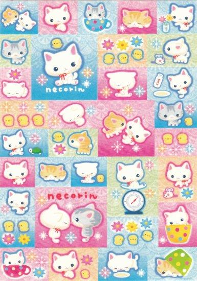 Japan San-x Necorin Kitten Sticker KAWAII
