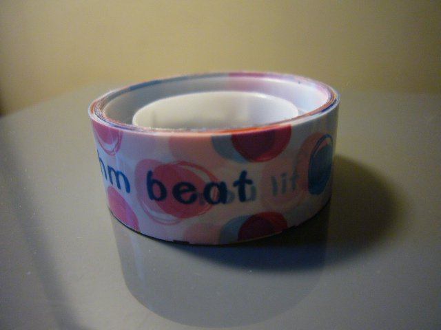 Japan Rhythm Beat w/ Polka Dots Deco Tape KAWAII