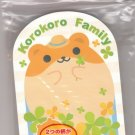 JAPAN Hamster & Frog Die Cut Memopad KAWAII