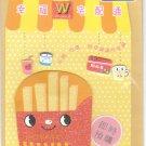 Taiwan French Fries Notecard KAWAII