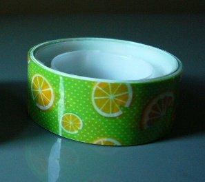 Japan Juicy Orange Deco Tape KAWAII