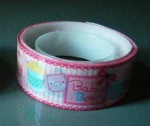 Japan Baby Boo w/ Cakes Deco Tape KAWAII