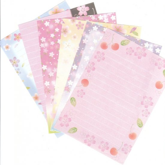 Japan San-x Sakura Papers Kawaii (A)