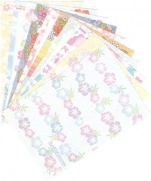 Japan San-x Tropical Flowers Papers Kawaii