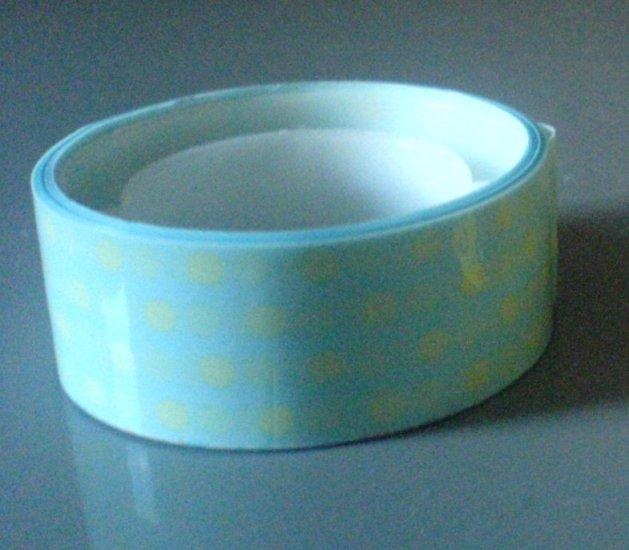 Japan Polka Dots Light Blue Deco Tape KAWAII