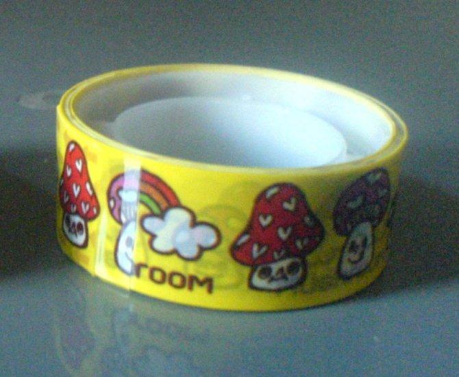 Japan Mushroom Deco Tape KAWAII