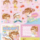 Japan Q-Lia Nicori Happy Girl Fashion Sticker KAWAII (D)