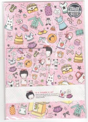 Korea Sense of Fashion Lettersets KAWAII