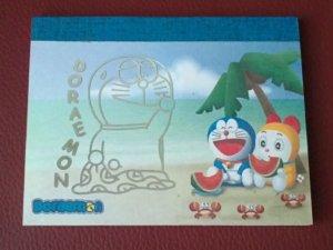 Japan Doraemon Beach Memopad KAWAII
