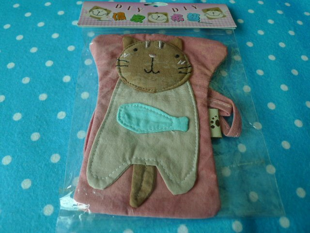 ASIA Cloth Kitten Small Pass Bag KAWAII