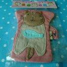ASIA Cloth Kitten Small Pass Bag KAWAII