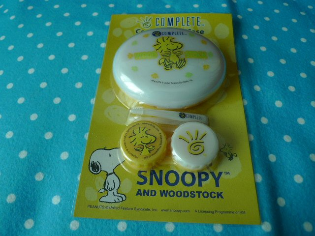 Snoopy & Woodstock Contact Lens Case