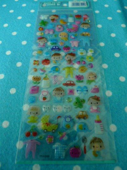 Japan Little Baby Jelly Sticker KAWAII