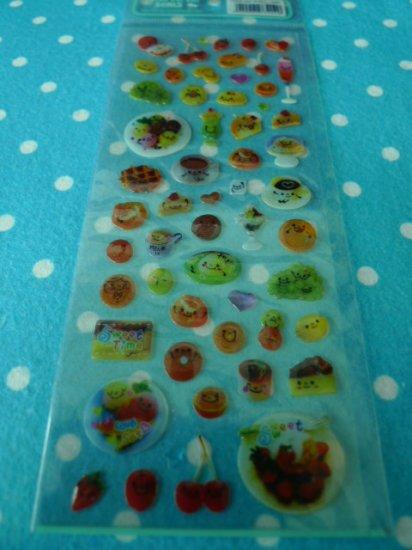 Japan Delicious Dessert Jelly Sticker KAWAII
