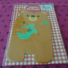Taiwan Bear w/ Guitar Pull Birthday Card KAWAII