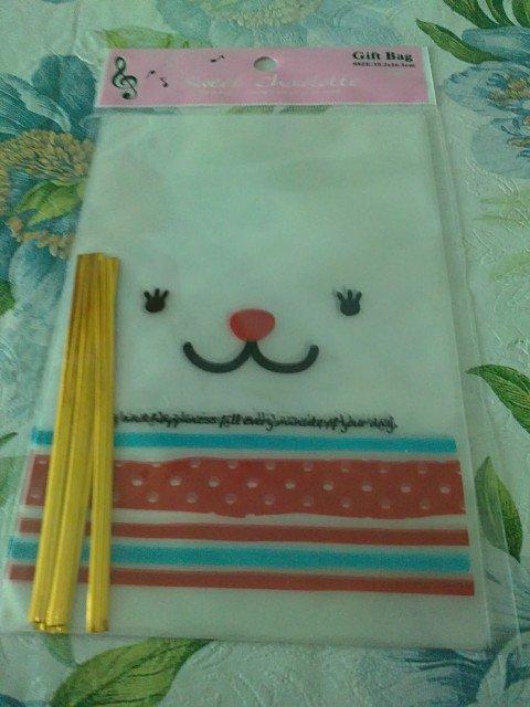 Taiwan Animal Face Gift Bags w/ Strap KAWAII