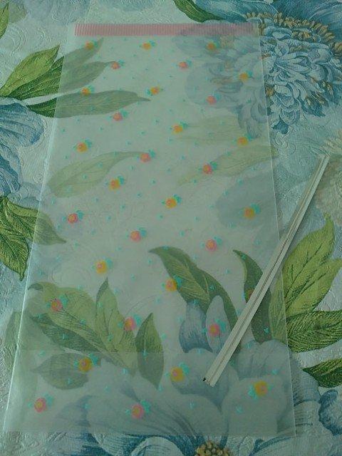 7x Japan Small Rose Plastic Gift Bags KAWAII