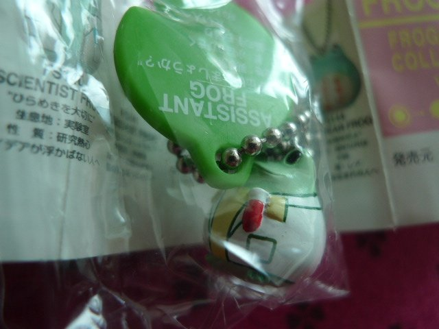JAPAN Frog Style Chain KAWAII (Assistant Frog)